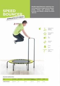 Akrobat Speed Bouncer Trambolina