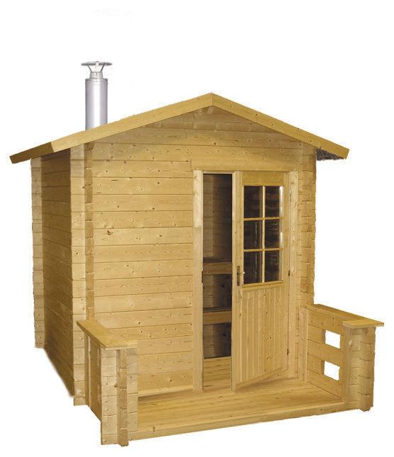 Spoljašnja sauna Kuikka Harvia